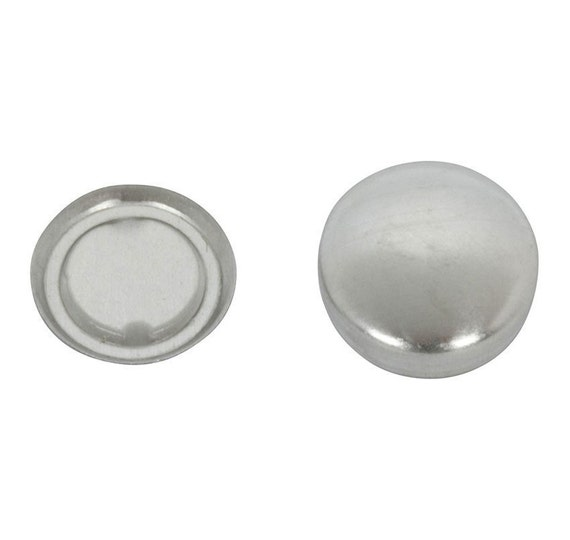 Size 60 FLAT Back Cover Buttons - 1.5 Inch (50)