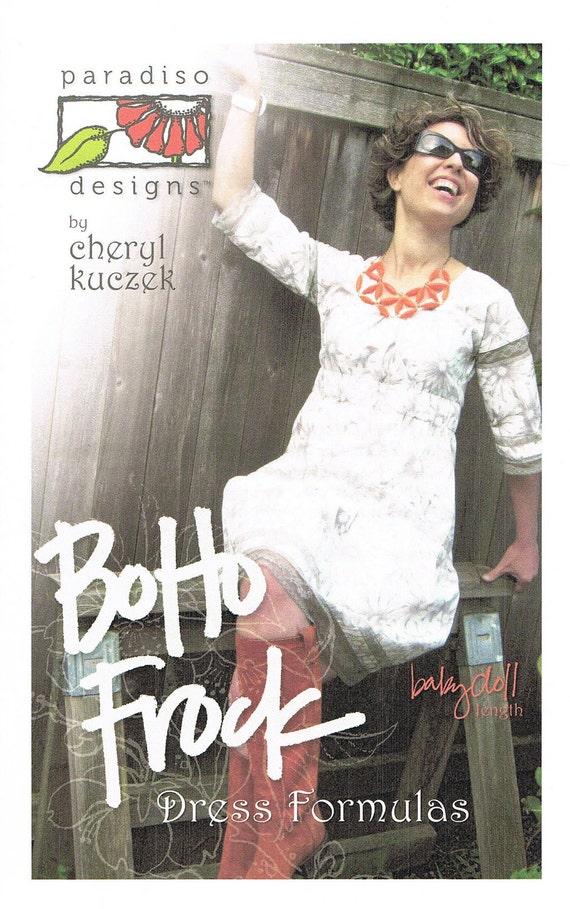 Boho Frock Dress Sewing Pattern