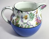 Pretty Rochelle Ware English Pitcher Fenton