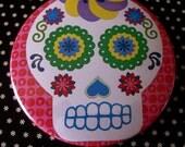 Pocket Mirror // Day of the Dead // Sugar Skull // Dia de los Muertos