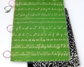 Binder for Back to School // Cursive Handwriting