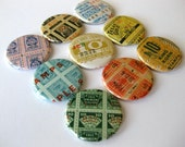 Magnets // Vintage Grocery Stamps
