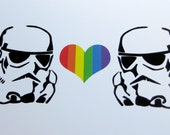 Star Wars Stormtrooper Love Card