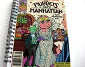 Muppets Notebook and Sketchbook // Recycled Vintage Comic Book