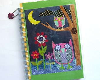 Owls Notebook & Journal