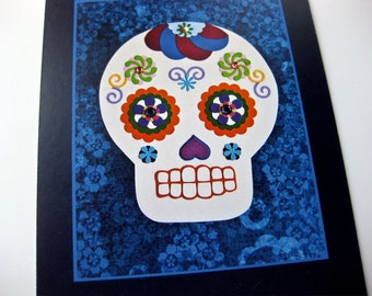 Day of the Dead // Sugar Skull Cards // Dia de Los Muertos