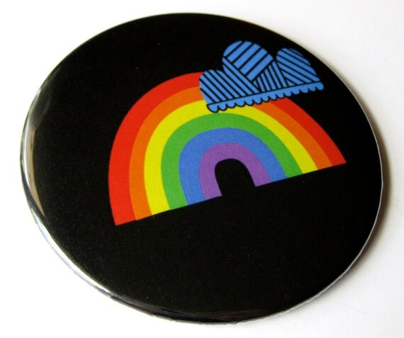 Pocket Mirror // Rainbow