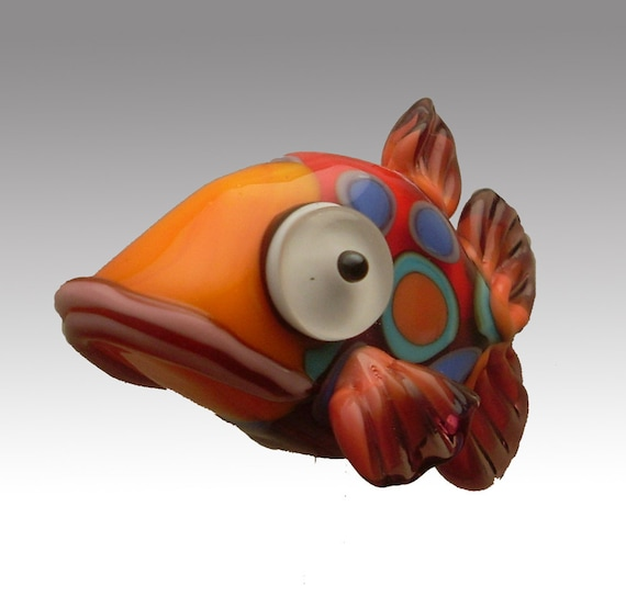 Aardvark's RUFUS The Spotted Shovelnose Fish Bead