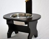 Garden Spigot Elevated Water Bowl Dog Cat LARGE- FREE SHIPPING