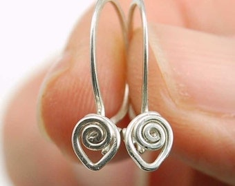 Fancy Silver Wire Wrapped Secure Ear Wire PDF Jewelry Tutorial Instruction ebook