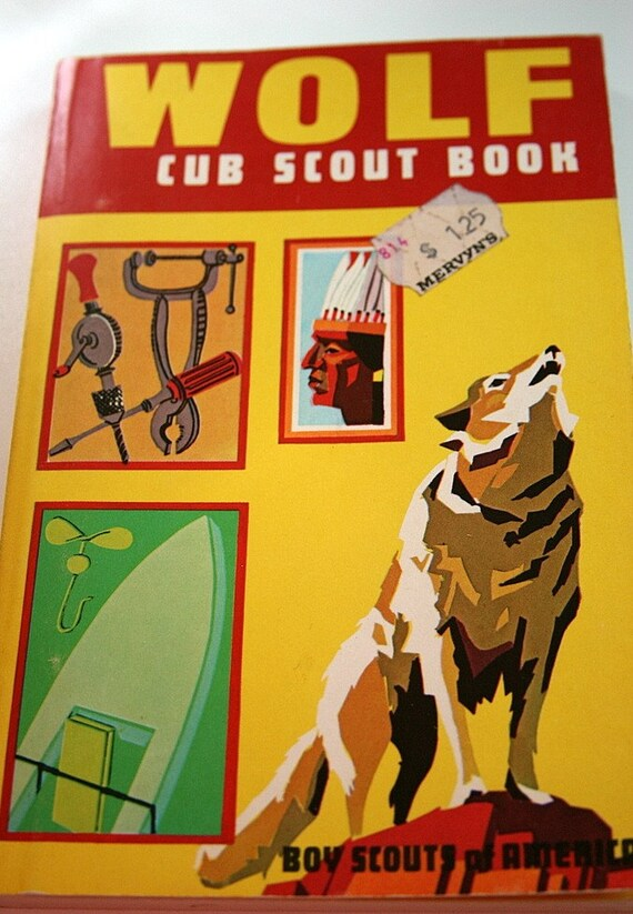 Vintage Wolf Scout Book