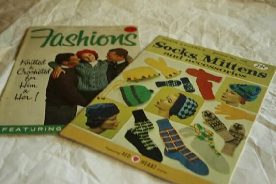 Vintage Crochet Booklets Lot A - Crochet Pattern pamphlets  - Kitsch