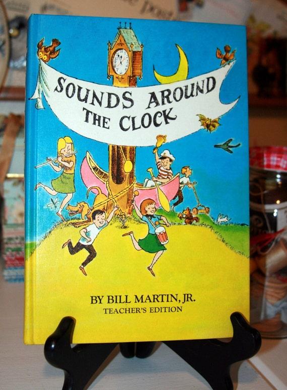 Vintage Childrens Illustrated Textbook 1960s