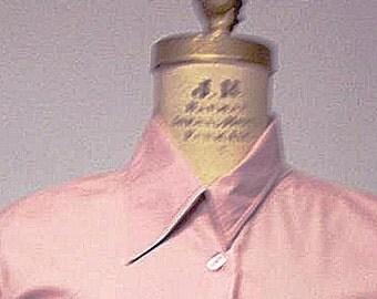 Wabi Sabi Collared Muddy Pink Shirt
