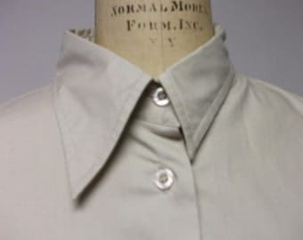 Wabi Sabi collared Classic Tan shirt