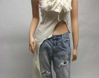CUSTOM Strapless Tee YOUR SIZE