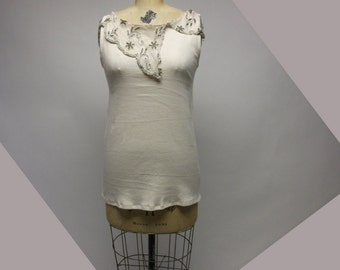 Custom Tattered Chic Shell YOUR SIZE