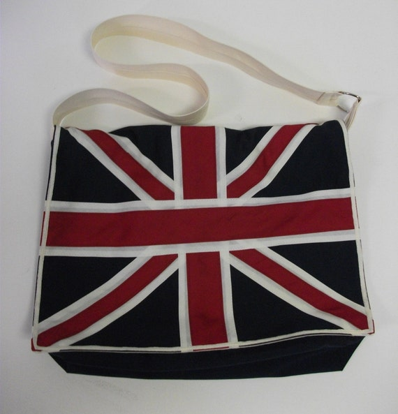 Union Jack Messenger Crossbody  Bag