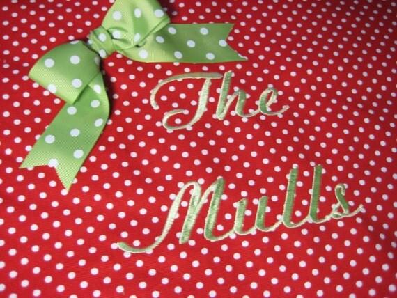Reserved for Joanne Stevens Christmas Tree Skirt
