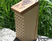 Leafcutter Bee Nest Block, Recycled Wood