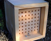 Mason Bee Nest, Orchard Bee Stacked Tray System With Rain Proof Shelter