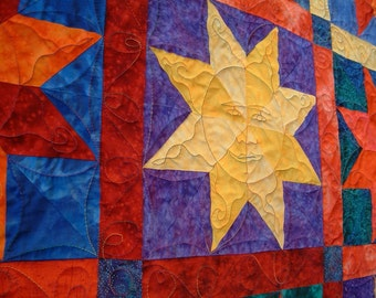 star quilt Always Sunny II