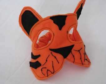 felt tiger mask for children