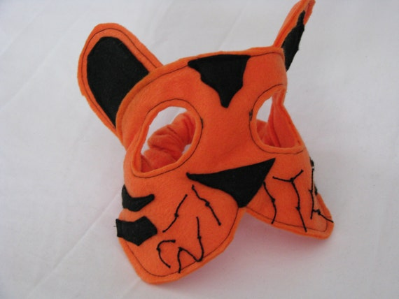 felt tiger mask for children
