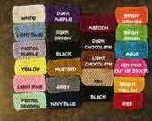 CLEARANCE - 10 Crochet Headbands - Mix and Match