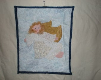 Quilted Wall Hanging  - Angel