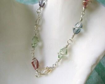 Spring Twist bracelet
