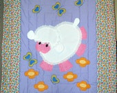 Little Lamb, rainbow heart border
