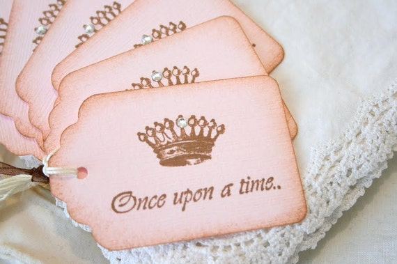 Gift Tags - Once Upon a Time - Paris Crowns