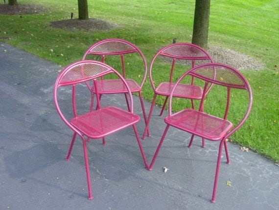 Mid Century Modern Patio ChairsRESERVED FOR FINDS by Serenities