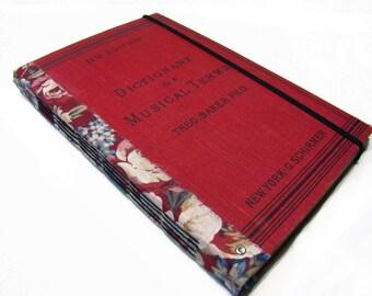 Journal, Art Journal, Blank Book, Guest Book, Visual Journal, Music Journal
