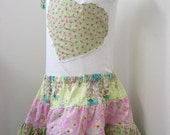 SALE Spring Flowers Tiered Twirl Skirt and matching top 5