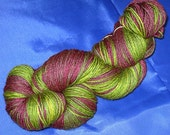 Zachariah Smith, Hand-Painted Superwash Merino Sock Yarn