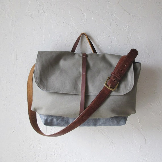 The Day Pack in Gray