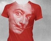 Salvador Dali Womens Tshirt