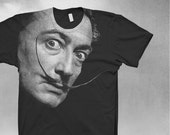 Dali shirt Mens Softstyle t-shirt Salvador Dali tshirt