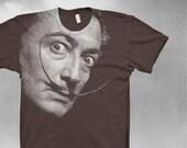 Salvador Dali t-shirt Softstyle Dali tshirt Mens tshirt