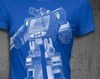 Soundwave T-Shirt Decepticon T-shirt Womens t-shirt