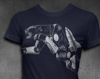 Ravage T-shirt Womens Tshirt Softstyle Transformer Shirt