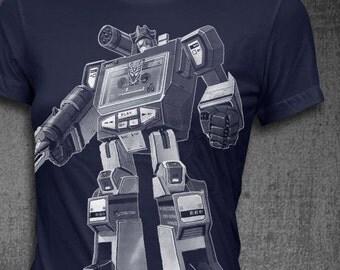 Soundwave T-shirt Softstyle Womens t-shirt Transformer tshirt