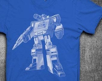 Soundwave T-shirt Mens t-shirt Softstyle Transformer tshirt