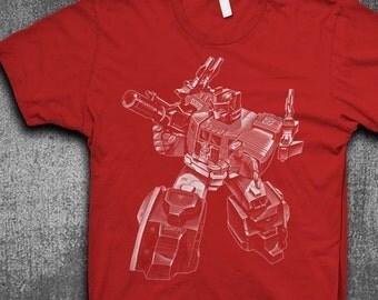 Optimus Prime T-shirt Mens t-shirt Softstyle Transformer tshirt