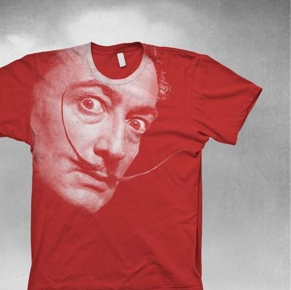 Salvador Dali T Shirt - Mens / Unisex Softstyle tee