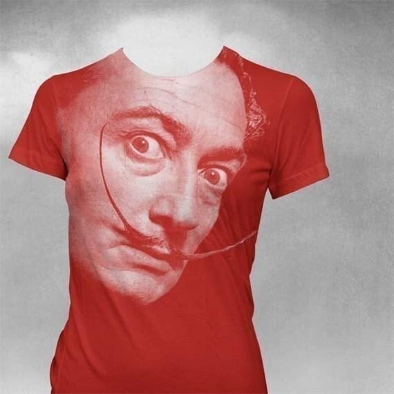 Dali T-Shirt Softstyle tshirt Womens shirt Salvador Dali tshirt