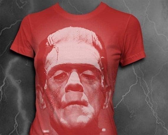 Frankenstein tshirt Womens t-shirt Gothic shirt