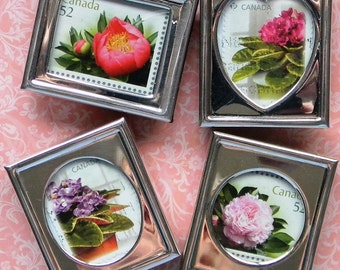 4 Stunning Magnets CANADA POSTAGE